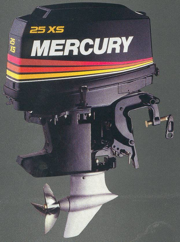 Motor Xs on 15 Hp Mercury Outboard Motor
